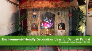 decoration themes for ganesh festival at home ganpati pictures ganpati decoration ideas 2017 gallery