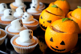 Chocolate Orange Halloween Cake Halloween Popping Candy Bites Gluten Free Baking