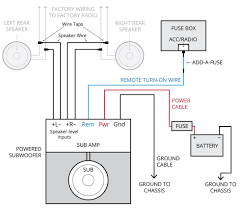 car audio amp wiring diagrams mechanic s corner pinterest and