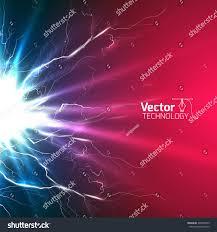 electricity discharge circuit wires stock vector 392040733