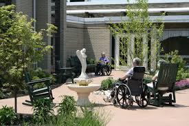 Home Courtyard by St John Neumann Nursing Home Ideaforgestudios