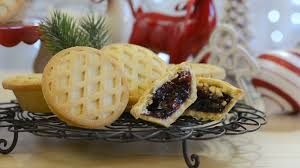 festive food table with style fruit mince pies