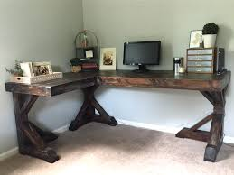 build a corner desk diy corner desk little home happiness