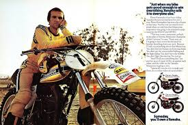 yamaha motocross gear some more old bike ads and brochures moto related