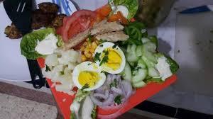 restaurant cuisine nicoise niçoise salade picture of restaurant argana tafraoute tripadvisor