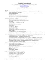 sle resume for business analyst role in sdlc phases system terrie wilson project manager sr business systems analyst