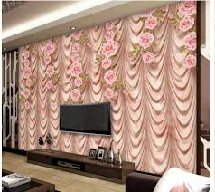 online get cheap wall mural aliexpress com alibaba group 3d wallpaper for room marble rose art tv curtain wall with curtains photo wall murals wallpaper