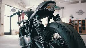 fox motocross shocks honda cb550 fox shocks youtube
