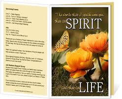 church bulletin templates god u0027s word inscription quote on the