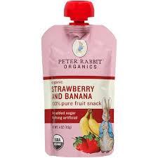 rabbit organics buy rabbit organics strawberry and banana 100 fruit