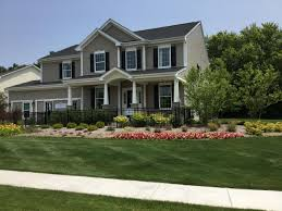 White House With Black Trim New Homes In Volo Il Homes For Sale New Home Source