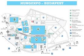 Budapest Metro Map by
