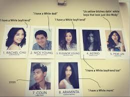 Asians Meme - distasteful meme created to mock the actors of crazy rich asians