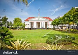 dutch colonial style typical dutch colonial building style jakarta stock photo