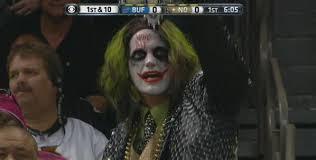 Heath Ledger Halloween Costume Saints Fans Rock Rob Ryan Joker Halloween Costumes Cbssports