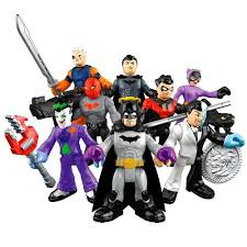 toyriffic imaginext bat family foil packed figures christmas
