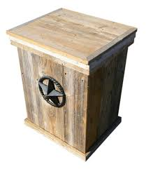 home products wood outdoor trash can propane acme nut and