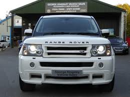 used land rover for sale used 2009 land rover range rover sport tdv8 sport hse full body
