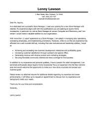 Cover Letter Exle Retail Sales best store manager cover letter exles livecareer
