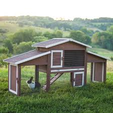 Rabbit Shack Hutch Boomer U0026 George Dual Use Rabbit Hutch Chicken Coop Hayneedle