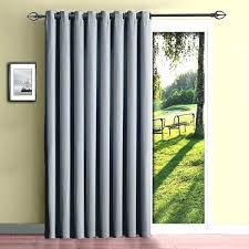 Insulated Kitchen Curtains by How Many Curtain Panels For Sliding Glass Doors Grommet Curtains