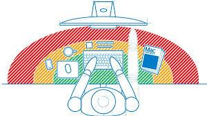 Proper Computer Desk Setup Computer Ergonomics Explained Set Up Your Pc Or Mac The Right Way
