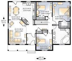 bungalow house plan charming brick bungalow 1500 square feet