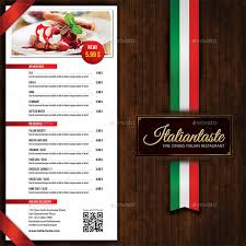 menu brochure template free bbapowers info