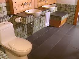 recycled master bathroom hgtv