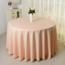 pink round table covers 10pcs chagne 100 polyester visa round table cloths banquet table