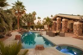 palm desert vacation rental desert jewel cooling patio misters