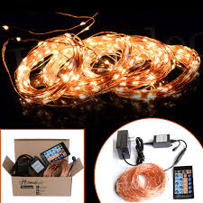 Starry String Lights On Copper Wire by Homeleo 40meters 400 Led Dimmable String Lights Kit U2013 Homeleo