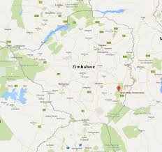 Zimbabwe Map Save Valley Zimbabwe African Echo Hunting Safaris