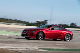 used lexus coupe first drive 2018 lexus lc 500 and 500h automobile magazine