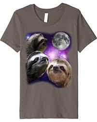 Parody Meme - spring shopping sales on unisex child sloth shirt three wolves