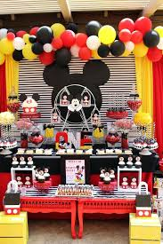 mickey mouse 1st birthday fashionable mickey mouse party decor how great is this mickey mouse