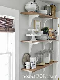 white kitchen shelves best of best 25 kitchen shelves ideas on