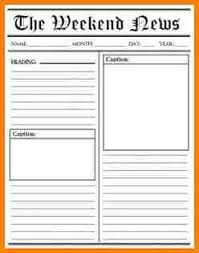 news report template 5 blank newspaper article template attorney letterheads