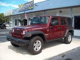 jeep wrangler maroon interior jeep used cars pickup trucks for sale st augustine longstreet auto