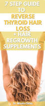 t3 return guide 7 step guide to reverse thyroid hair loss hair regrowth supplements