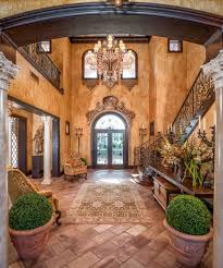 tuscan home interiors the wall finishes chandelier and the overall tuscan feel