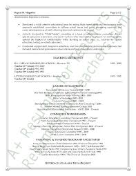 Elementary Teacher Resume Examples by 10 Best Resume Samples Images On Pinterest Resume Examples