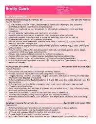 Medical Assistant Resume Skills Medical Assistant Resume Examples Jospar