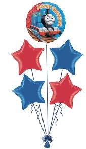 birthday helium balloons the tank engine party happy birthday foil helium balloon
