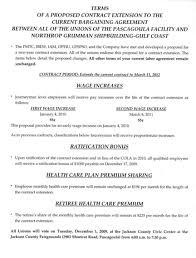 Northrop Grumman Resume Collective Bargaining Agreement Template Negotiated Agreement 6