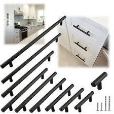 black modern kitchen cabinet pulls details about matte black modern cabinet handles pulls kitchen drawer stainless steel hardware