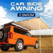 4x4 Side Awnings For Sale Aliexpress Com Buy Danchel Car Tent 1 5x2 2x2 2x2 5m 2 5x2m