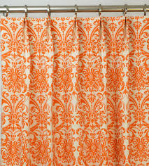 Red Orange Curtains Orange Drapes And Curtains