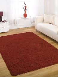 large quality shaggy rug in red 160 x 230 cm 5 u00273