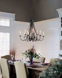 Traditional Dining Room Chandeliers Dining Room Exciting Chandelier With Hubbardton Forge For